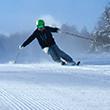 2つのスキー場